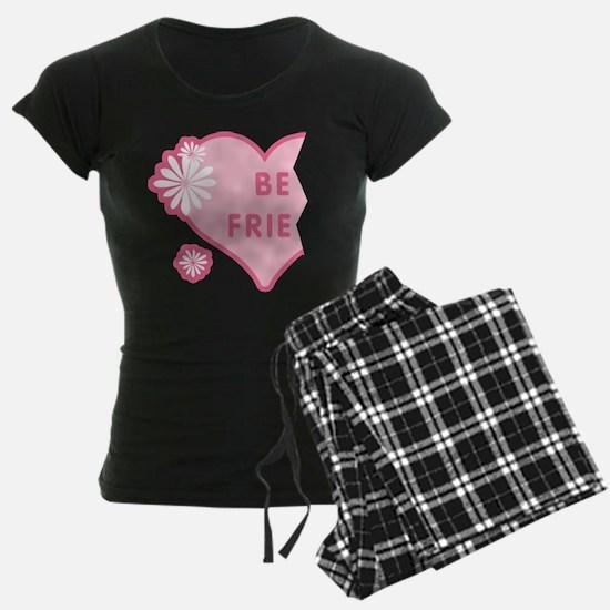 Pink Best Friends Heart Left Pajamas