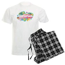 Retro Burst Librarian Pajamas