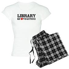 Library Volunteer Pajamas