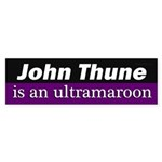 John Thune is an ultramaroon sticker