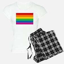 Gay Pride Rainbow Flag pajamas