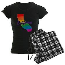 Gay Pride Rainbow California pajamas