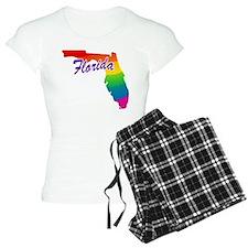 Gay Pride Rainbow Florida Pajamas