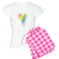 Rainbow Heart Pajamas