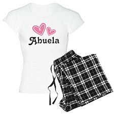Pink Heart Abuela Pajamas