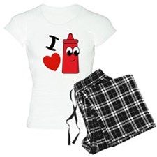 I Heart Ketchup Pajamas
