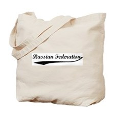 Vintage Russian Federation Tote Bag