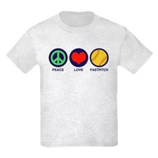 Peace Love Fastpitch T-Shirt