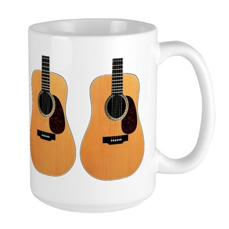 Acoustic Guitar Large Mug