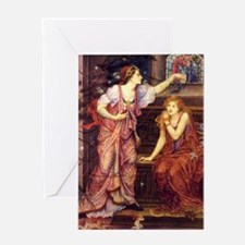 Queen Eleanor and Fair Rosamond Greeting Card