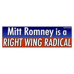 Mitt Romney Right Wing Radical '08