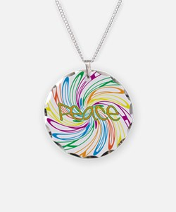 Peace Signs Necklace