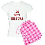 Do Not Disturb Women's Light Pajamas