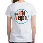 From A to Vegan Women's T-Shirt