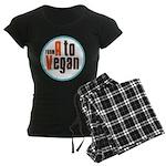 From A to Vegan Women's Dark Pajamas