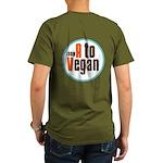 From A to Vegan Organic Men's T-Shirt (dark)