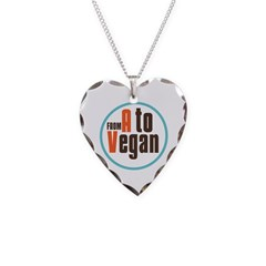 From A to Vegan Necklace