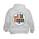 From A to Vegan Kids Hoodie