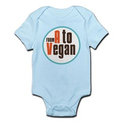 From A to Vegan Infant Bodysuit