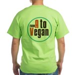 From A to Vegan Green T-Shirt
