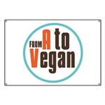 From A to Vegan Banner