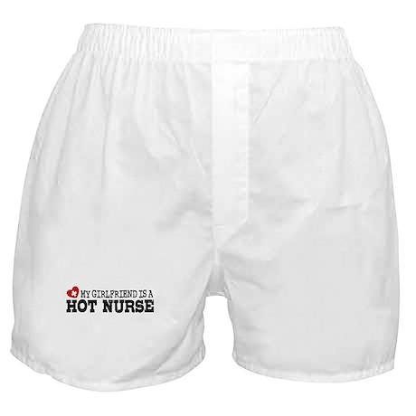 My Girlfriend is a Hot Nurse Boxer Shorts