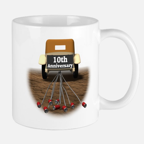 10th Wedding Anniversary Mug