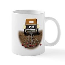 45th Wedding Anniversary Small Mugs