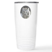 Royal White Tiger Travel Mug