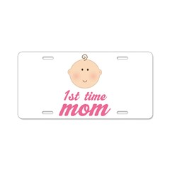 1st Time Mom License Plate