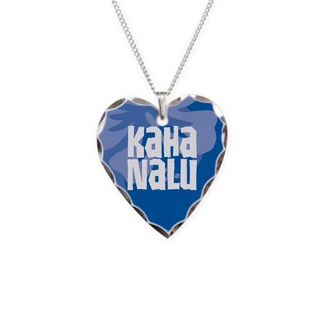 Kaha Nalu Necklace Heart Charm