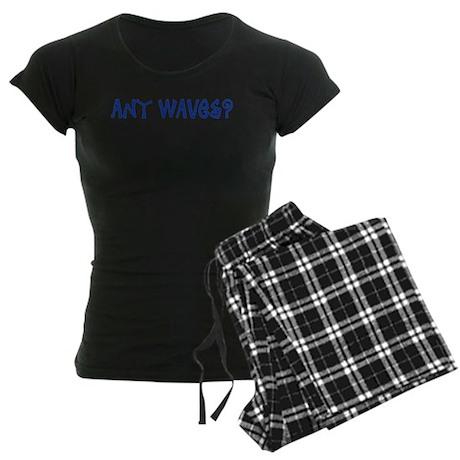 Any Waves? Women's Dark Pajamas