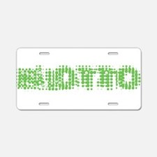 Blotto Aluminum License Plate