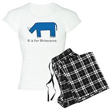 R is for Rhino Pajamas