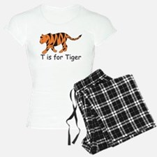 T is for Tiger Pajamas