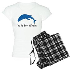 W is for Whale Pajamas