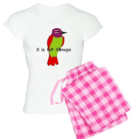 X is for Xenops Women's Light Pajamas