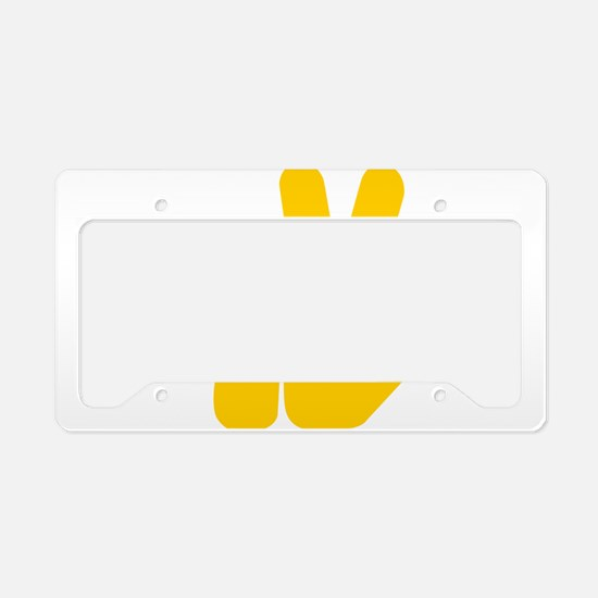 Peace It Out! License Plate Holder