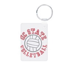 UC State Volleyball Keychains