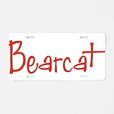 Bearcat Aluminum License Plate