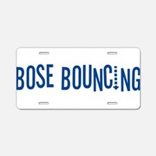Bose Bouncing Aluminum License Plate