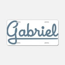Gabriel Aluminum License Plate