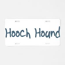 Hooch Hound Aluminum License Plate