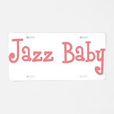Jazz Baby Aluminum License Plate
