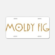 Moldy Fig Aluminum License Plate