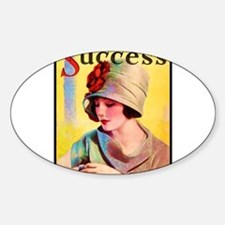 Art Deco Best Seller Sticker (Oval)