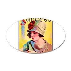 Art Deco Best Seller 22x14 Oval Wall Peel