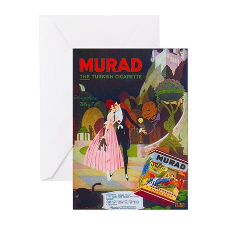 Art Deco Best Seller Greeting Cards (Pk of 10)