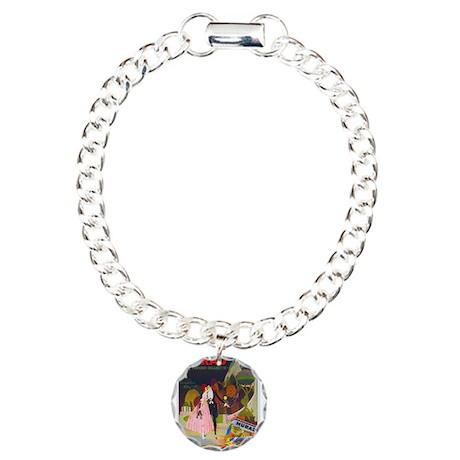 Art Deco Best Seller Charm Bracelet, One Charm