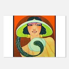 Art Deco Best Seller Postcards (Package of 8)